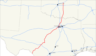 U.S. Route 377 Auxiliary U.S. Highway in Texas and Oklahoma in the United States