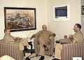 US Navy 031117-N-7833F-003 Adm. Walter F. Doran, Commander Pacific Fleet, Admiral Vernon Clark, Chief of Naval Operations and Admiral Jonathon Greenert, Deputy Commander Pacific Fleet meet to discuss Pacific Fleet issues during.jpg