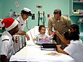 US Navy 031224-N-0351R-001 Personnel assigned to Navy Recruiting District Miami, donated gifts to the children's hospital.jpg
