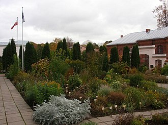 University of Tartu Botanical Gardens - Image: UT Botanical Garden 4 2008