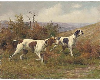 Karl Uchermann - Hounds on the Scent