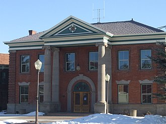 Uinta County, Wyoming - Image: Uinta County Courthouse Evanston Wyoming