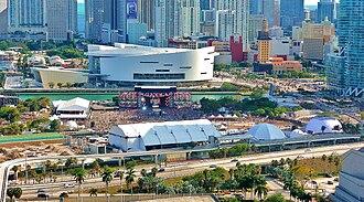 True (Avicii album) - The Ultra Music Festival in Miami's Bicentennial Park, where Avicii showcased material from True.