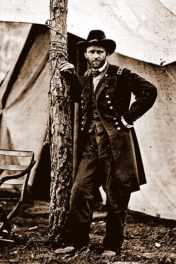350px Ulysses S Grant%2C Cold Harbor%2C VA%2C June 1864. Ulysses S. Grant   Portait of a Farmer