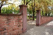 Umfassungsmauer Luciusfriedhof Hoechst