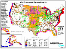 Wind generation potential in the United States Wikipedia