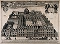 University College, Oxford; aerial view with key and coats o Wellcome V0014176.jpg