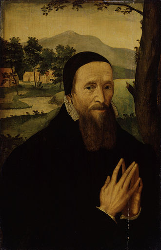 Richard Hooker - Portrait of an unknown man, formerly thought to be Richard Hooker