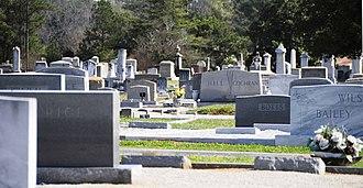 Upper Long Cane Cemetery - Image: Upper Long Cane Cemetery