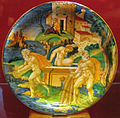Urbino, francesco xanto avelli, scilla, circe e glauco, 1535.JPG