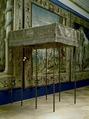 Utställningsbild Kristinas kröningshimmel - Livrustkammaren - 4167.tif