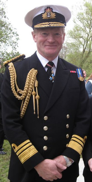 Charles Montgomery (Royal Navy officer) - Charles Montgomery in 2011