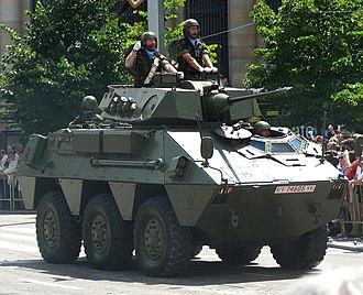 Type 87 ARV - Image: VEC Zaragoza