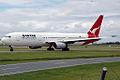 VH-ZXA 'Jervis Bay' Boeing 767-336(ER) Qantas (8731564444).jpg