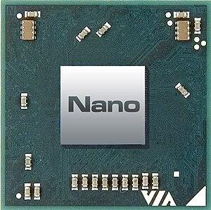 VIA Nano - Image: VIA Nano Chip Image (top)
