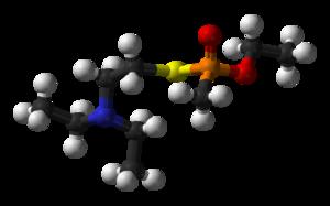 VM (nerve agent) - Image: VM 3D balls