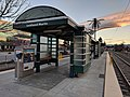 VTA light rail station at Lockheed Martin Transit Center.jpg