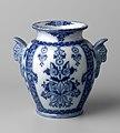 Vaas met blauw bladpatroon (1877), Petrus Regout & Co.jpg