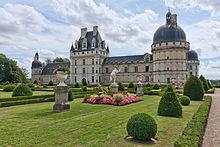 Château de Valençaiy et son parc à la Française
