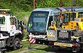 Valenciennes & Anzin - Déraillement de la rame de tramway n° 17 à la sortie du dépôt de Saint-Waast le 11 avril 2014 (078).JPG