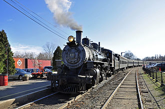 Valley Railroad (Connecticut) - Image: Valley Railroad Mikado 40 (1)