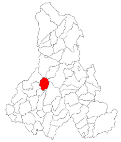 Location of Vărşag