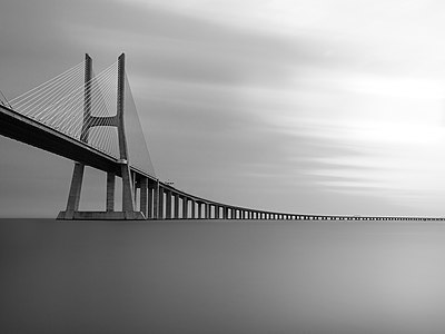 Vasco da Gama Bridge (Ponte Vasco da Gama), Lisbon, Portugal