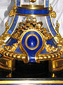 Vase from lapis lazuli on a stand - detail 01.JPG