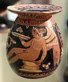 Vasetto con eros androgino, 300 ac ca., da tomba 28-1911 a timmari, 0.jpg