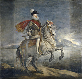 Image illustrative de l'article Philippe III à cheval (Vélasquez)