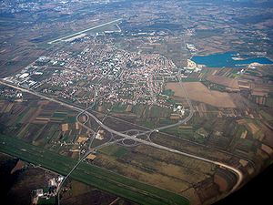 Velika Gorica from air 2