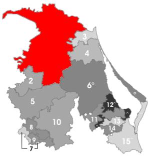 Pánuco Municipality, Veracruz - Image: Ver reg 1 panuco