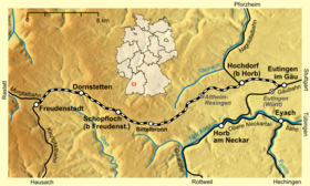 Image illustrative de l'article Ligne d'Eutingen à Freudenstadt