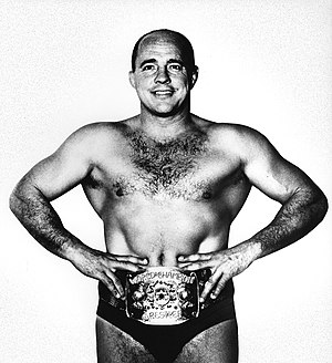 AWA World Heavyweight Championship - Record 10-time and longest reigning champion Verne Gagne