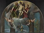 Veronese - Fragment of the Petrobelli Altarpiece - The Dead Christ with Angels.jpg