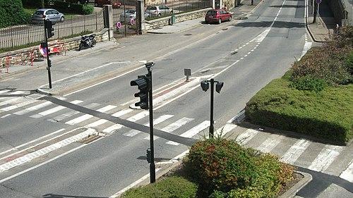Vichy - Boulevard de l'Hôpital - Feux de circulation routière
