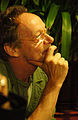 Vienna 2013-08-13 Sittl - 'in memoriam Rolf Schwendter' 086 Erwin A. R. Leder.jpg