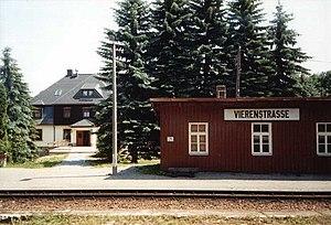 Fichtelberg Railway - Image: Vierenstraße
