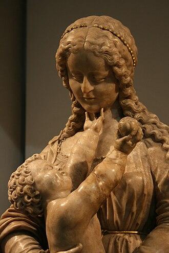 Conrad Meit - Vierge à l'enfant, v.1530, Musée de la Tour Abbatiale, Saint-Amand-les-Eaux