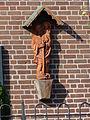 Vierlingsbeek - Beeld van Sint Christoffel op de wand van de Staaij.jpg