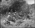 Vietnam....Members of Companies B and D, 1st Battalion, 501st Infantry, Regiment, 101st Airborne Division, take a... - NARA - 531454.tif