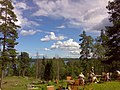 View from a hilltop cafeteria at Partakoski - panoramio.jpg