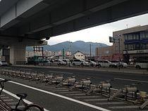 View of Mount Aburayama near Noke Station.JPG