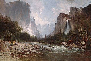 View of Yosemite Valley