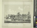 View of buildings in the park, N.Y., 1809. School, engine house, bridewell, City Hall (NYPL Hades-1785704-1650673).tiff