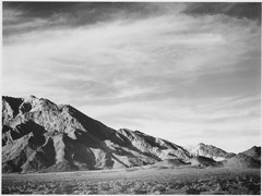 "View of mountains, ""Near Death Valley,"" California, 1933 - 1942 - NARA - 519854.tif"