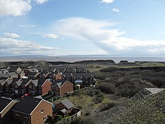 View over part of Rhoose Point Facing SE - March 28 2009.JPG