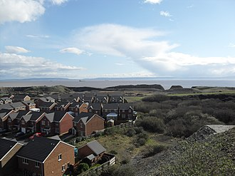 Rhoose - Image: View over part of Rhoose Point Facing SE March 28 2009