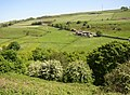 View over the valley of the Black Brook from near Crow Wood Farm, Barkisland - geograph.org.uk - 180059.jpg