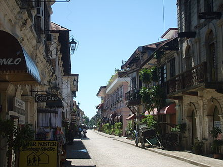 Vigan City is a classic example of a town with architecture of both Spanish and Asian design. - Philippines